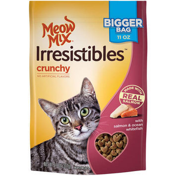 Meow Mix Irresistibles Crunchy Salmon and Ocean Whitefish Cat Treats