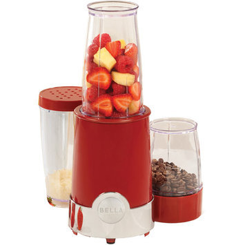Bella 12 Piece Rocket Blender in Red