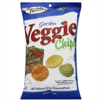 Sensible Portions Sea Salt Veggie Chips 5 Ounce 12 Per Case.