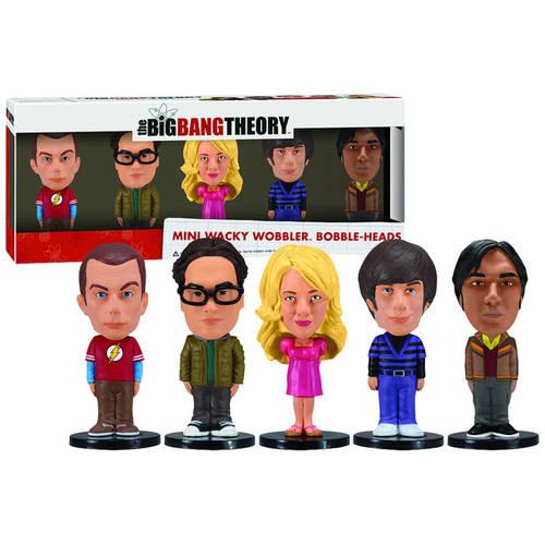 Funko Big Bang Theory Mini Bobble Head Box Set