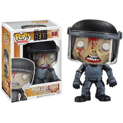Funko The Walking Dead Prison Guard Zombie Pop! Vinyl Figure