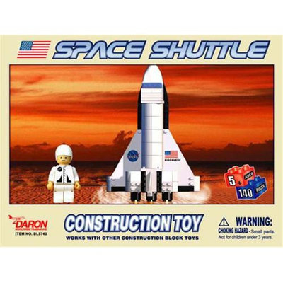 Daron Worldwide Trading BL5740 Space Shuttle 140 Piece Construction Toy