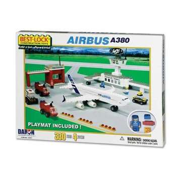 Daron BL33021 Airbus A380 330 Piece Construction Playset