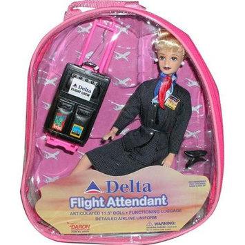 Daron Worldwide Trading DA200 Delta Flight Attendant Doll