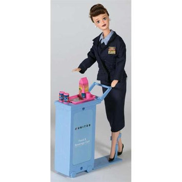 Daron Worldwide Trading DA700 United Airlines Flight Attendant Doll