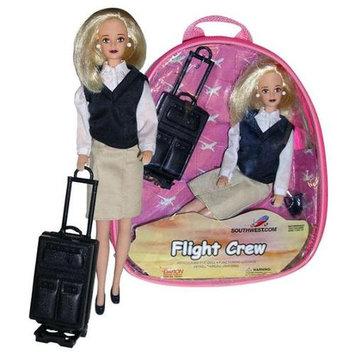 Daron Worldwide Trading DA950 Southwest Airlines Flight Attendant Doll