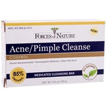 Forces Of Nature Acne-Pimple Control Cleanse Bar - 3.5 oz