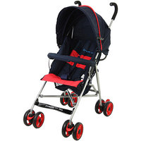 Dream On Me Large Canopy Single Baby Stroller, Black