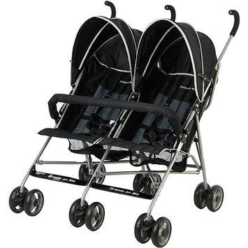 Dream On Me Twin Stroller- Black - 1 ct.