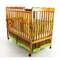 Dream On Me, Classic 2 in 1 Convertible Crib, Natural