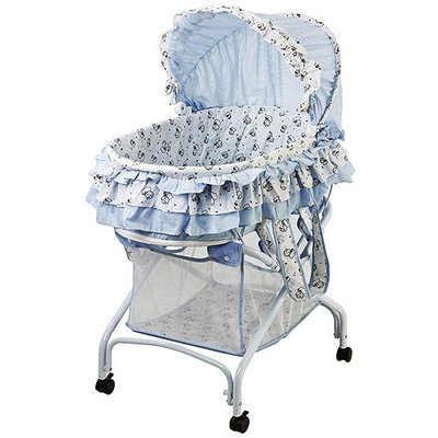 Dream On Me, 2 in 1 Bassinet To Cradle, Blue