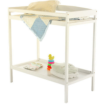Dream on Me Classic Changing Table - White