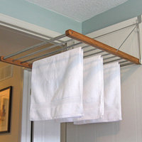 Greenway Fold Away Bamboo Clothes Rack
