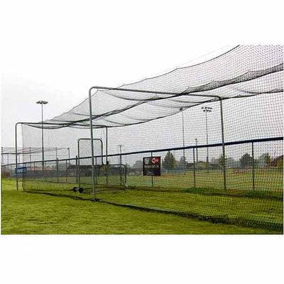 Trigon Sports B427012 ProCage Batting Tunnel Net #42 70x12x12ft high