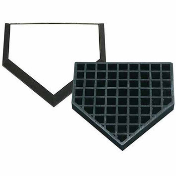 Trigon Sports International Inc Trigon Sports Waffle Bottom In-Ground Home Plate