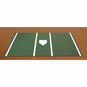 Trigon Sports International Inc Trigon Sports Pro Baseball Turf Home Plate Mat in Green