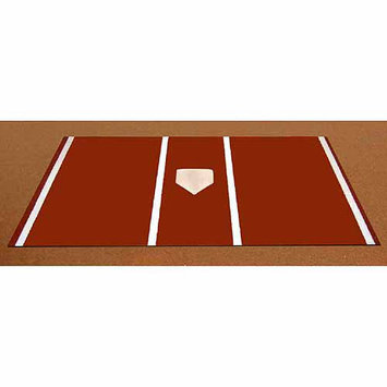 Trigon Sports International Inc Trigon Sports Pro Turf Home Plate Mat in Clay