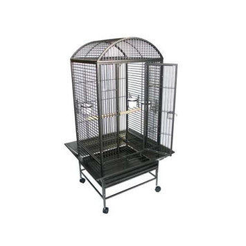 YML Dome Top Wrought Iron Parrot Cage