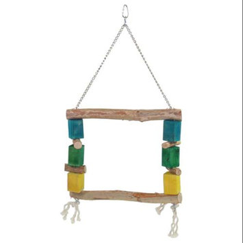 YML BT113 Square Swing Bird Toy