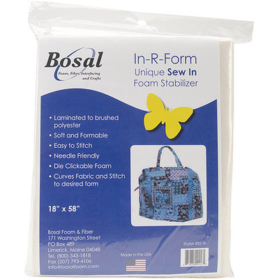 Bosal In-R-Form Unique Sew In Foam Stabilizer-18