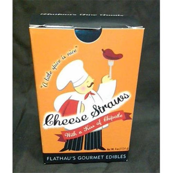 Flathau's Fine Foods Flathaus Fine Foods 4 oz. Cheddar Chipotle Cheese Straws - Pack of 12