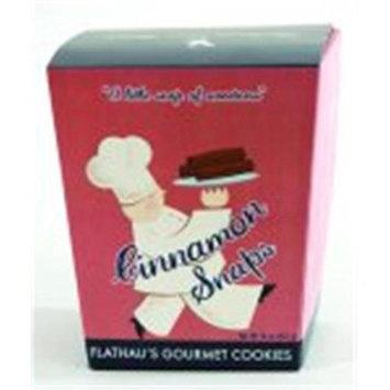 Flathau's Fine Foods Flathaus Fine Foods 5512 6 oz. Can Snaps - Cinnamon Cookies - Pack of 12