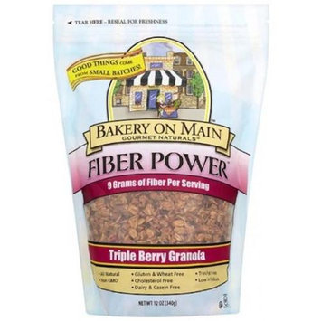 Bakery On Main - Fiber Power Granola Gluten Free Triple Berry - 12 oz.