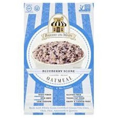Bakery On Main Gluten Free Instant Oatmeal Blueberry Scone - 6 Packets