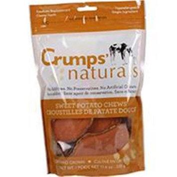 Crump Group Crumps Naturals Sweet Potato Dog Rawhide Small