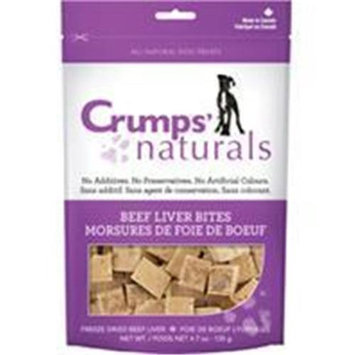 Crump Group Crumps Naturals Beef Liver Bite Dog Treat Small