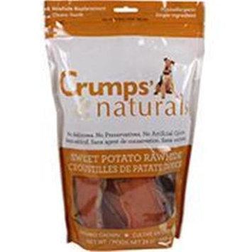 Crump Group Crumps Naturals Sweet Potato Dog Rawhide Large