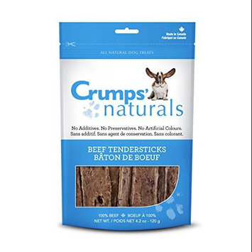Crump Group Crumps Naturals Beef Tendersticks Dog Treat Large