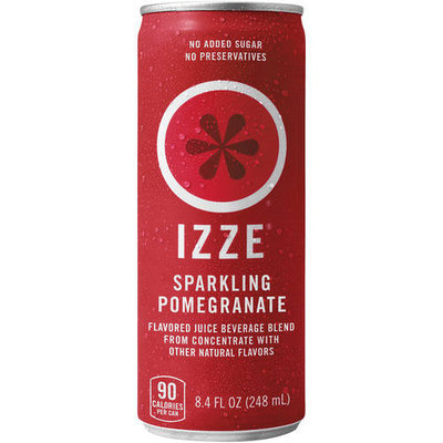 IZZE Sparkling Pomegranate Juice Beverage 8.4 oz, 4 pk