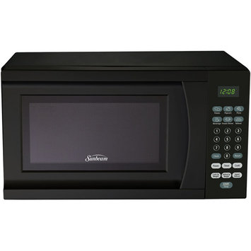 Galanz Sunbeam 0.7 Cubic Foot Microwave Oven - Black