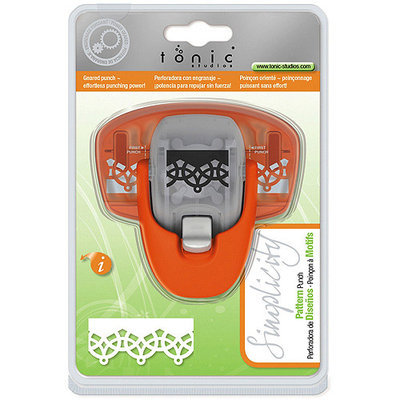 Tonic Studios Simplicity Pattern Punch-Loopy Lace Border, .75inX.875in