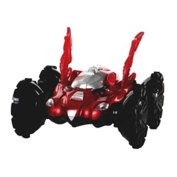 Microgear 1:36 RC Car Stunt Psycho Assault on Water And Land - REd