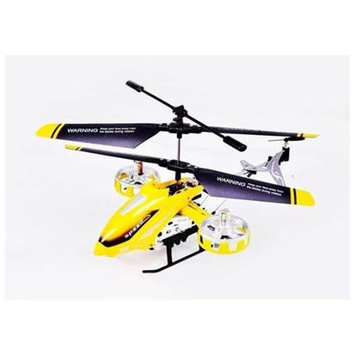 Microgear RC 4Ch Infrared Remote Control RC Helicopter w/ Gyro Light LED - Yellow