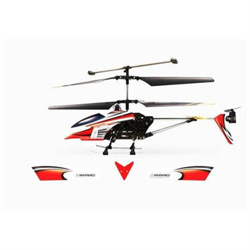 Microgear 2.4GHz Technology RC FX-607 Helicopter 3.5CH w/ Gyro Charge via USB - Red