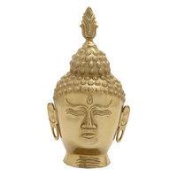 Benzara 16480 Buddha Head Aluminum
