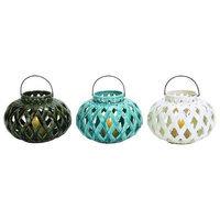 Benzara Attractive Ceramic Lantern 3 Assorted