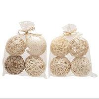 Benzara 77058 Decorative Ball 2 Assorted