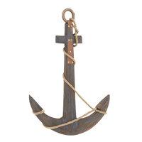 Benzara 78778 Wood Rope Anchor