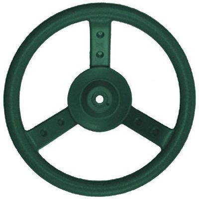 Kidgymz Eastern Jungle Gym Plastic Steering Wheel - Green
