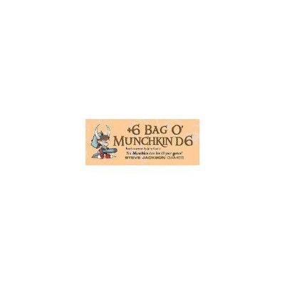 Steve Jackson Games - 6 Bag O' Munchkin D6 SJG5514