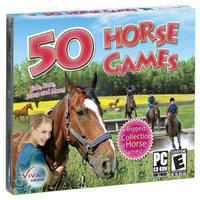 Viva Media 50 Horse Games - Puzzle Game - PC