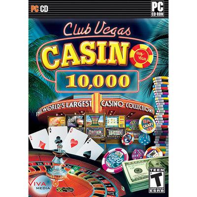 Viva Media 110063 Club Vegas Casino 10,000