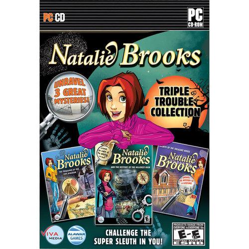 Viva Media Llc 2 Pc Natalie Brooks Triple Trouble Col Mbx