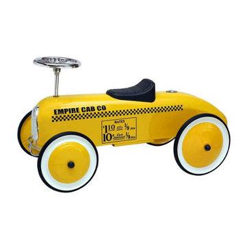 Morgan Cycle Yellow Taxi Foot to Floor Retro Racer