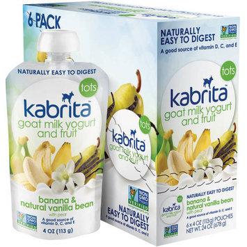 Hyproca Nutrition Usa Kabrita Goat Milk Banana/Vanilla Yogurt and Fruit - 6 Pack