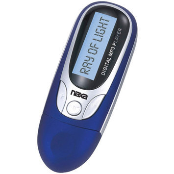 Naxa NM105BL 4GB Mp3 Player With Fm Radio -blue